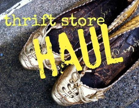 Thrift Store Haul