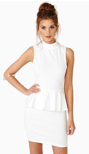 Trendy White Dresses