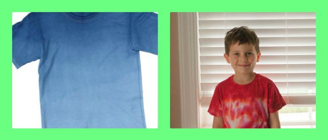 #summerofjoann Ombre Dyed T shirt