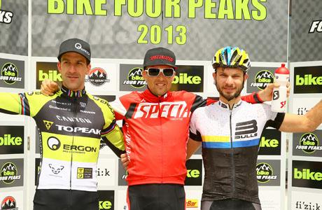 BIKE Four Peaks: Sauser storms into Yellow Jersey