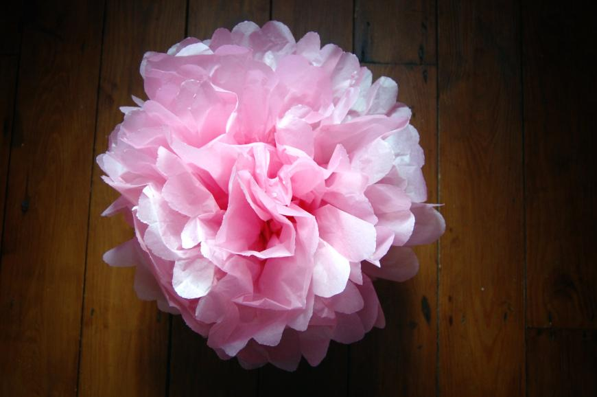 how to make tissue paper pom poms small Bespoke-bride: wedding blog diy cricut explore how to make mini tissue paper flowers in a vase diy flowers milk bottle mini pom pom tissue paper tutorial.