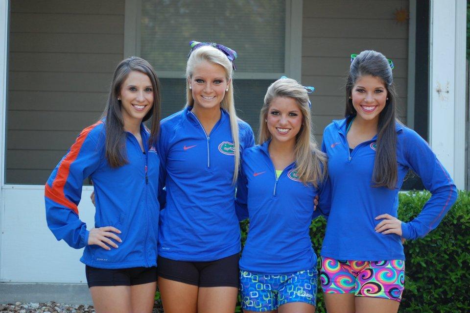 Florida Gators Cheerleaders Paperblog