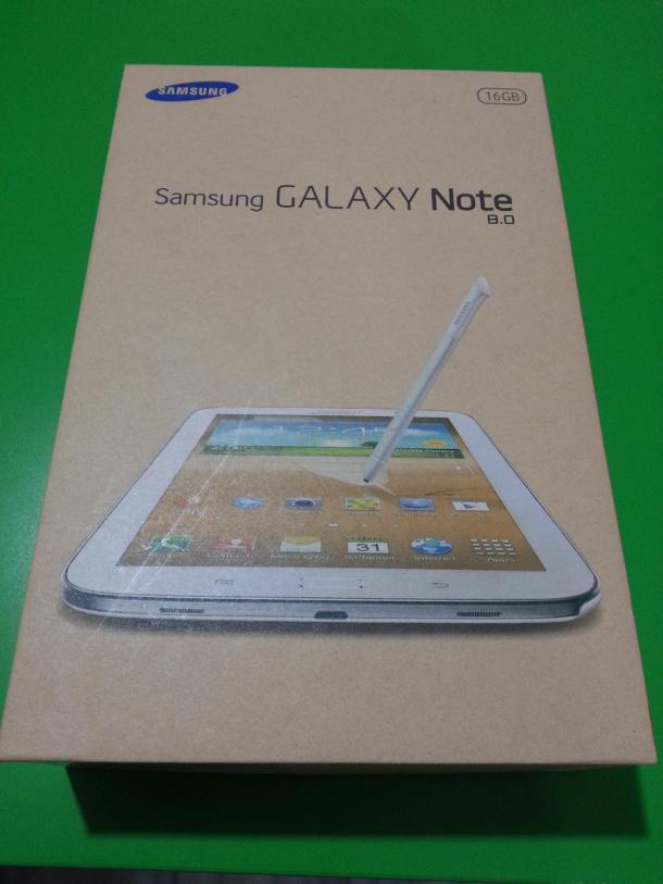 samsung galaxy note 8.0 tab package gt-n5100