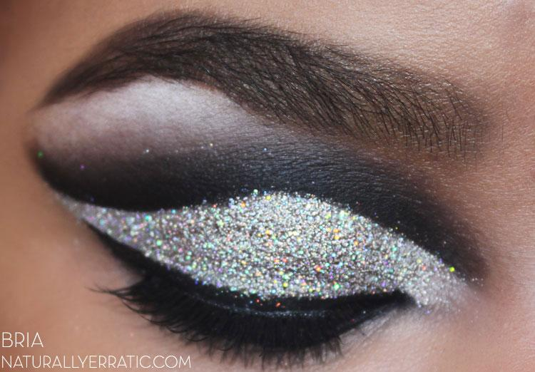 Dramatic Makeup, Smokey Makeup, Glitter Makeup, Cut Crease Makeup