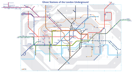Ghost Stations on the Underground