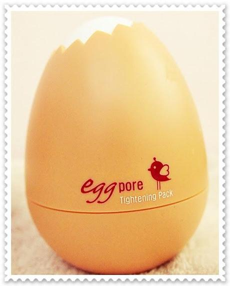 TonyMoly Egg Pore Tightening Pack Review