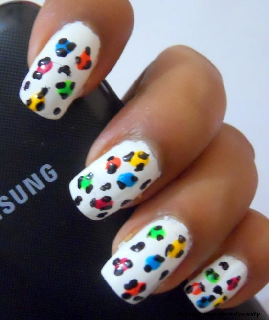 How To Do Leopard Print Nails With Nail Art Pen Best Image Of