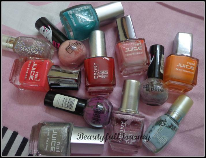 Me, My Nails and My Nail Paints  - Paperblog