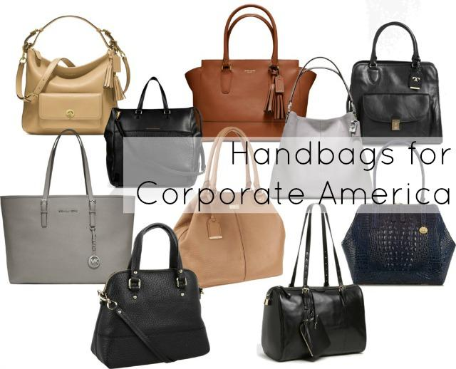 Ask Allie: Handbags for Corporate America