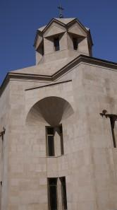 close up of Saint Gregory the Illuminator Cathedral
