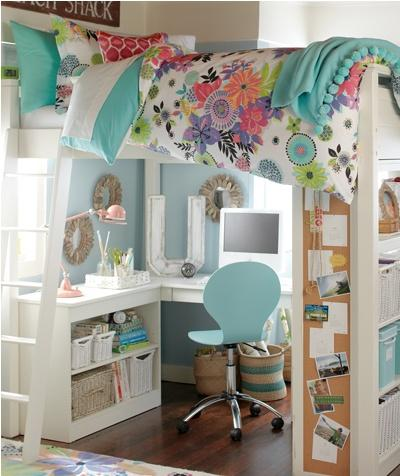 New school, new room ~ ideas for summer holiday decorating