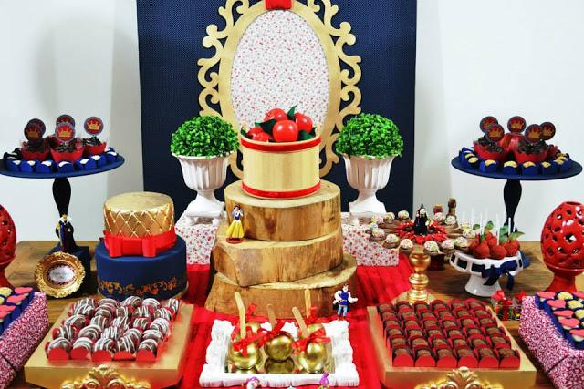 Snow White Party By Invento Festa Paperblog