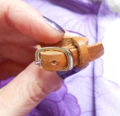 Leather Belt Ring