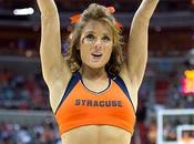 Syracuse Cheerleaders Make Orange Sexy