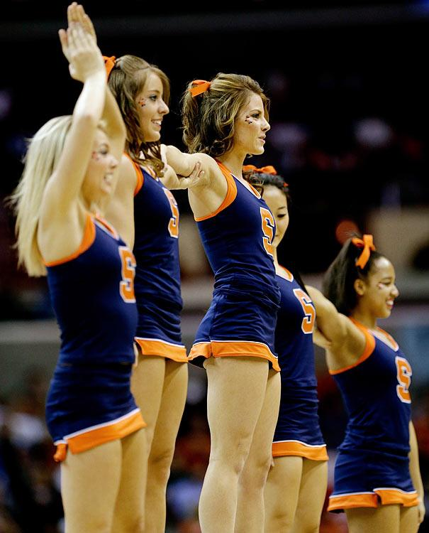 Syracuse Cheerleaders Make Orange Sexy Paperblog