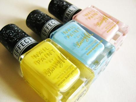 Barry M - Texture Polishes