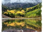 Mountain Photography Note Cards Maroon Bells, Colorado