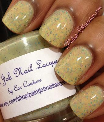 Paint Job Nail Lacquer Swatches & Review