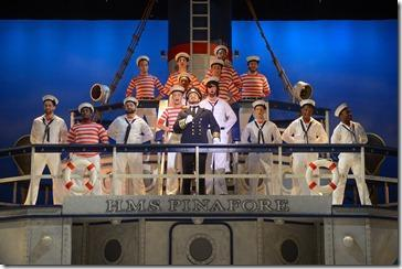 Review: H.M.S. Pinafore (Light Opera Works)