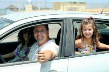 Kids Left  in Hot Car Summer