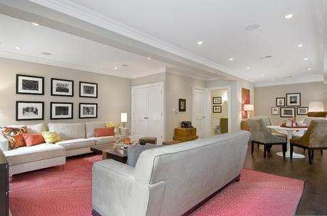 traditional basement How Recessed Lighting Can Brighten Your Home HomeSpirations