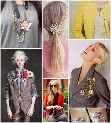 brooches style2Brooch Fever: Unique Ways to Wear It