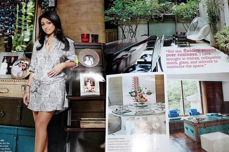 Surily Goel's House - Nature, Design and Fashion At One Place