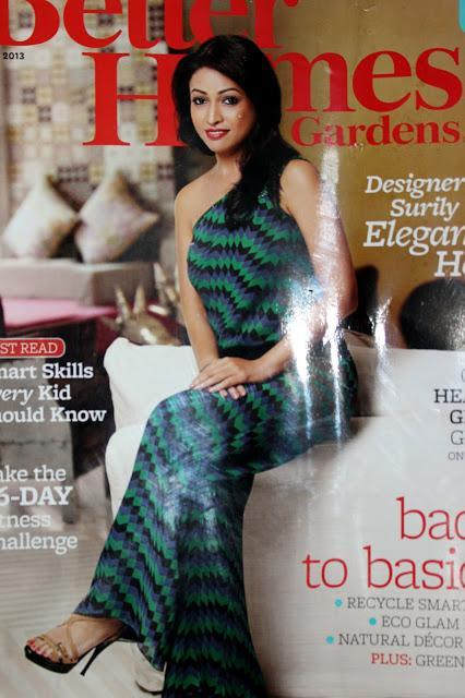Surily Goel on Better Homes and Garden June 2013