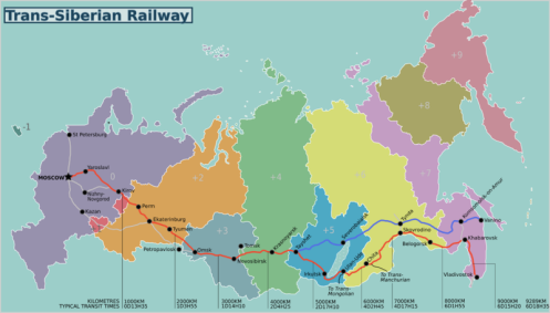 Train Trans-Siberian_railway_map