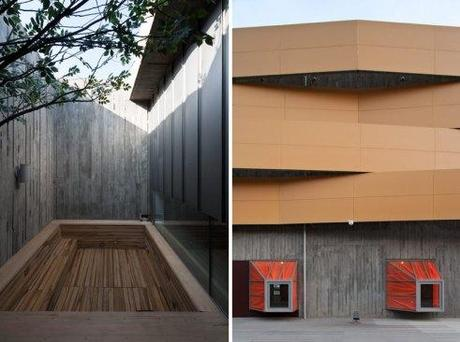 Heyri Theater and Hotel by BCHO architects