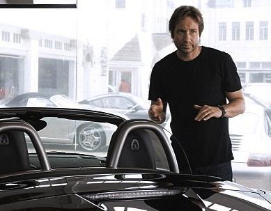 Hank Moody Goes Porsche Shopping Paperblog