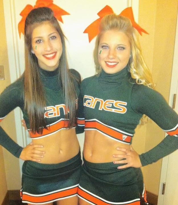 University of Miami Cheerleaders - Paperblog