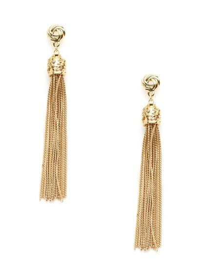 Cara Couture jewelry, jewelry trends 2013, tassel earrings
