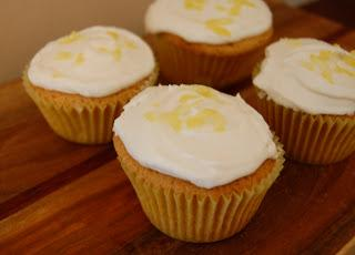 Lemon Cupcakes with Buttercream Frosting (Vegan)