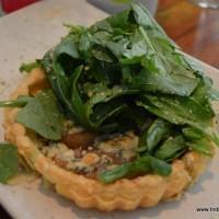blue cheese pear tart
