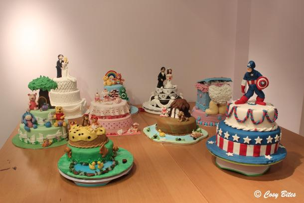 PME Course 1 Final Cakes