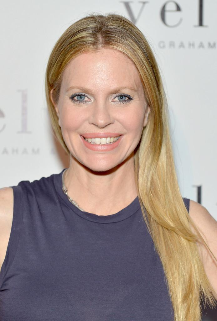 Kristin Bauer van Straten Velvet by Graham & Spencer Celebrates the Grand Opening of Flagship Store Charley Gallay Getty