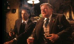 Richard E Grant and Richard Griffiths in Withnail & I