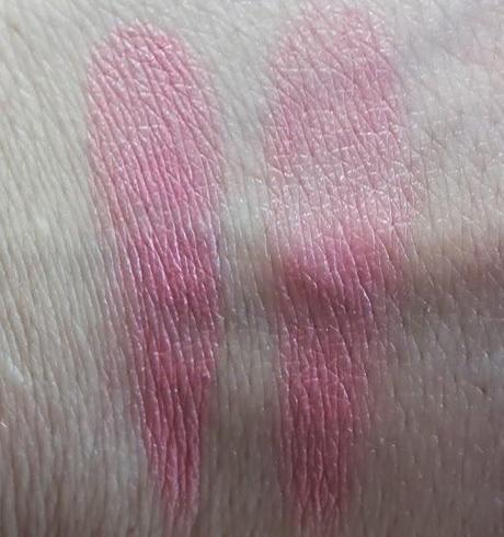 Laura Mercier Creme Cheek Colour Rose Bud Swatches