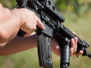 Why are IRS agents training with AR-15 assault weapons?