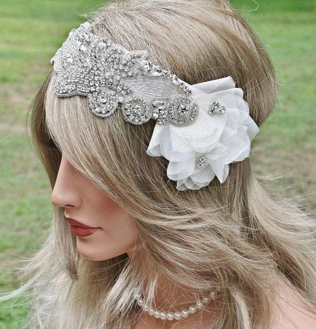 Great Gatsby! Rhinestone Headband Sold & Relisted