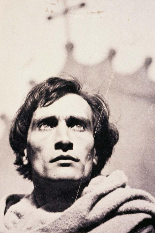 picture of Artaud in the film Joan of arc