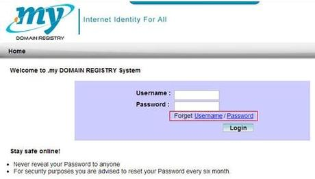 How To Do .My Registration And Recover Mynic Log-In Details