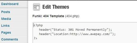 Custom Designs for 404 Page Not Found or 301 Redirection To Homepage
