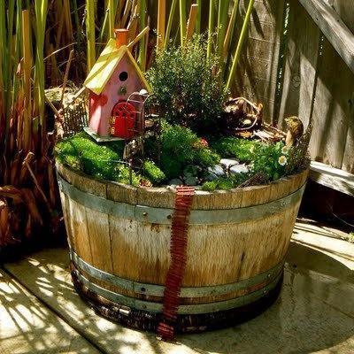 fairy garden pinterest The Easiest Family Vegetable Garden