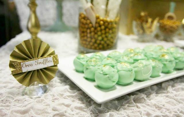 Mint And Gold Party By Sugar Coated Mama Paperblog