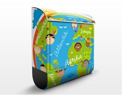 design letterbox  Design Letterbox No.EK129 Kids World39x46x13cm