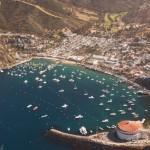View of Avalon from Helicopter