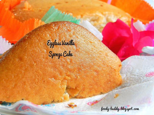 Sponge cake recipe no eggs