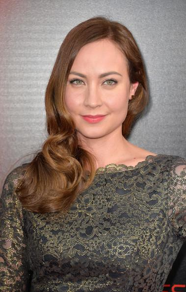 Courtney Ford Premiere Of HBO's _True Blood_ Season 6 - Arrivals Frazer Harrison Getty